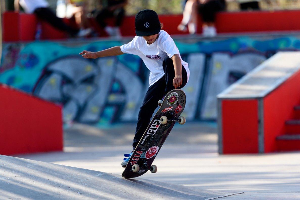 Las obras en el skatepark permitirán ampliar las instalaciones.
