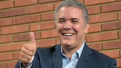 El derechista Duque gana las elecciones en Colombia