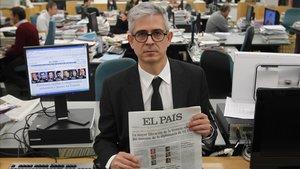 Javier Moreno, nuevo director de 'El País'en una imagen de archivo.