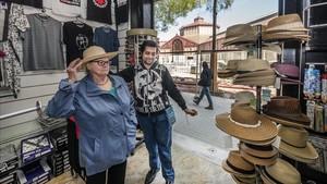 Sant Antoni, primera botiga de 'souvenirs', ¡ai!