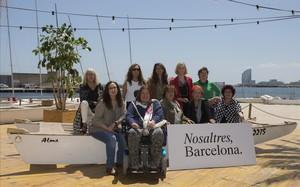 Las 10 mujeres que lideran la nueva plataforma Nosaltres, Barcelona.