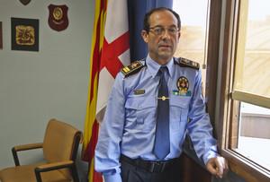 El jefe de la Guardia Urbana, Evelio Vázquez, en una imagen del 2011.