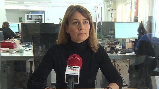 Jéssica Albiach se presentará a las primarias de En Comú Podem para las elecciones a la Generalitat.