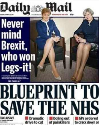 Críticas a una portada sexista del 'Daily mail'