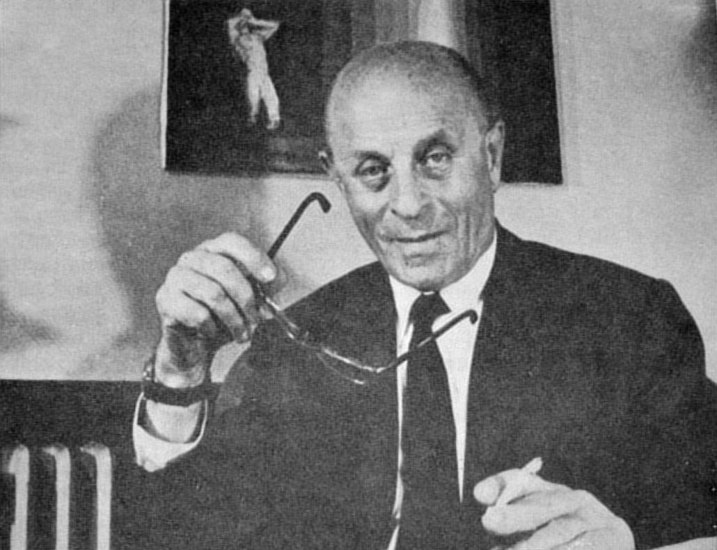 Ladislao José Biro, en una imagen de 1978.