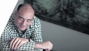 L'escriptor i periodista barceloní Xavier Bosch, guanyador del premi Ramon Llull amb la novel·la 'Algú com tu'.
