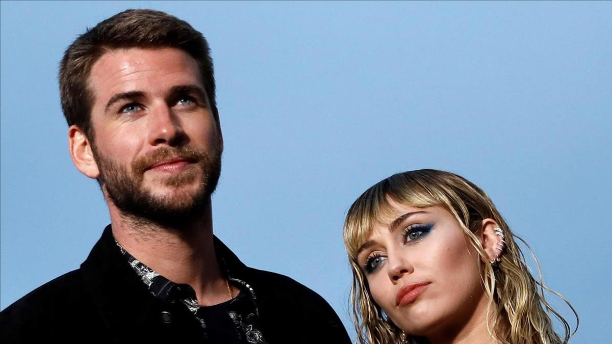 Liam Hemsworth le desea a Miley Cyrus que sea feliz, tras la ruptura de su matrimonio.