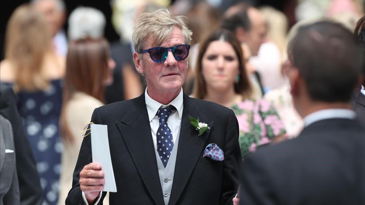 Ernesto de Hannover, el pasado marzo en la boda de su hijo en Lima.