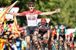 Vuelta a Espanya, etapa 18: Jelle Wallays triomfa a Lleida