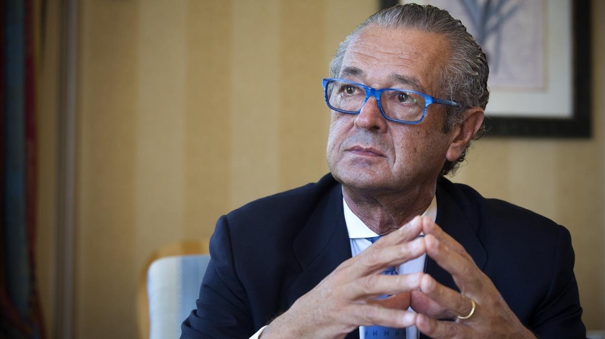 Luis Conde, presidente del Salón Náutico de Barcelona.