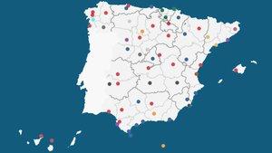 Cercador: Els alcaldes de tots els municipis d'Espanya després de les eleccions 2019