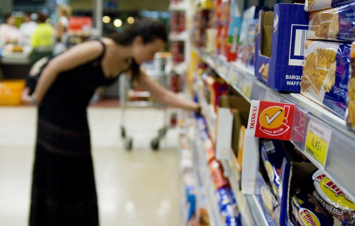 42 euros de cada 100 euros que gastamos en productos de gran consumo se destinan a marcas blancas.