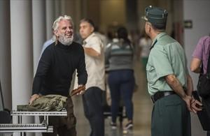 Marcos Benavent, el Yonki del Dinero, entra a la Ciudad de la Justicia de València para declarar