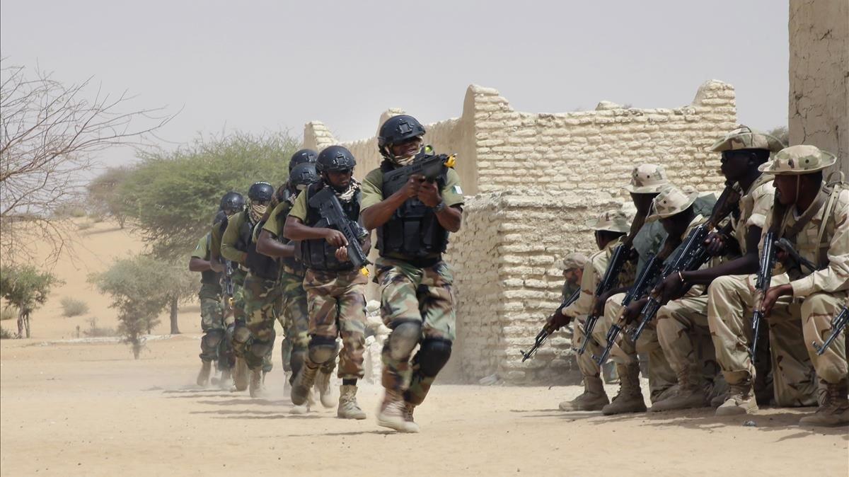 La fuerzas especiales del Ejército nigeriano, en una imagen de archivo