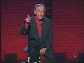 El humorista Miguel Gila, en una de sus actuaciones.