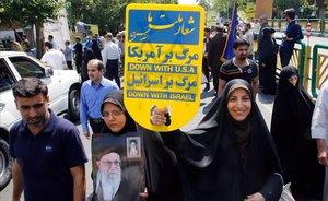 Miles de personas marchan por las calles de Teherán bajo el lema recuperaremos Jerusalén.