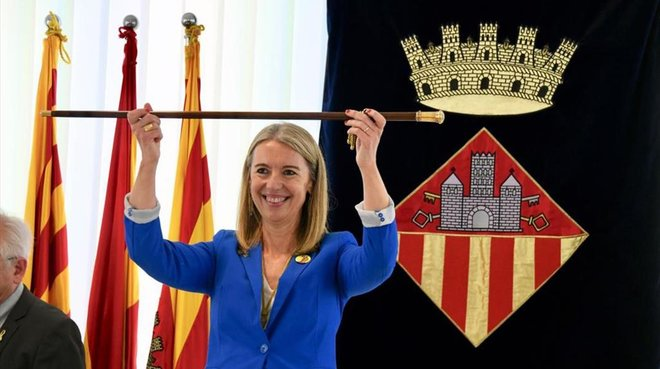 Mireia Ingla, alcaldesa de Sant Cugat del Vallès.
