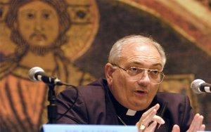 El obispo de Nueva York,Nicholas DiMarzio.