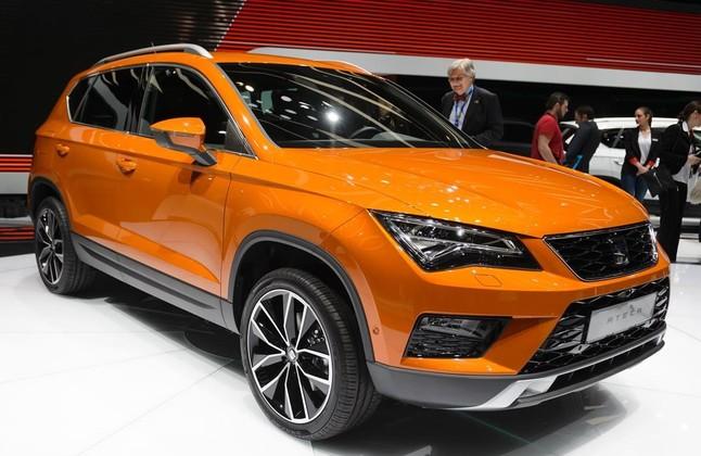 El nuevo modelo Seat Ateca que se ha presentado en Ginebra.