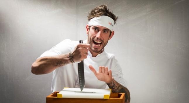 El cocinero catalán Oriol Lomas.