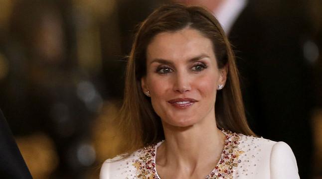 La reina Letizia, després de la proclamació del seu marit com a Felip VI, aquest dijous.