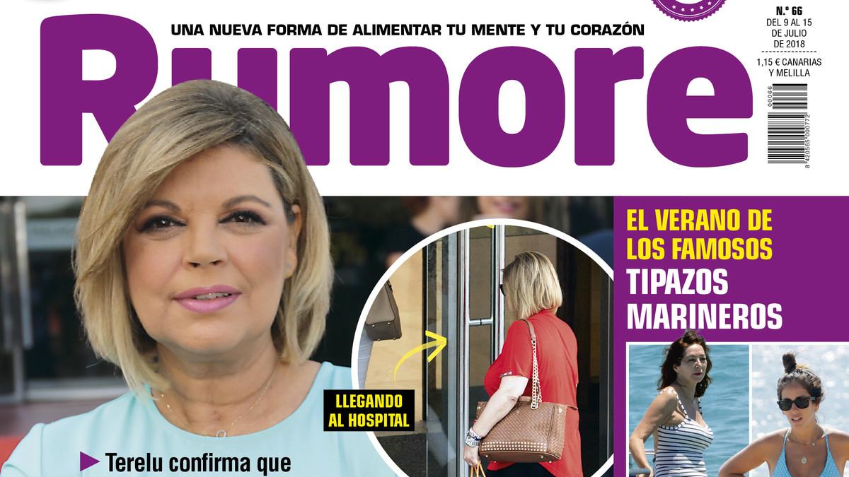 Portada de la revista Rumore.