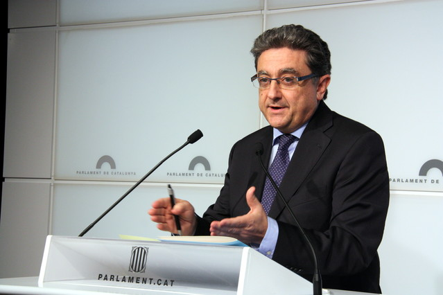 El portavoz del PPC en el Parlament, Enric Millo.