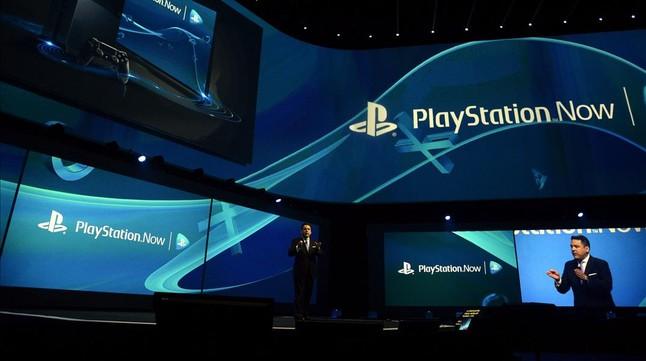 El presidente de Sony Computer Entertainment America, Shawn Layden, en la rueda de prensa de Play Station, en Los Ángeles.