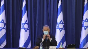 El primer ministro israelí Binyamin Netanyahu, este domingo.