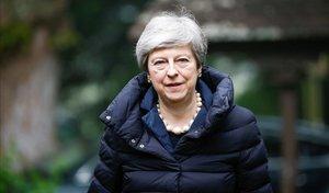 La primera ministra británica, Theresa May.