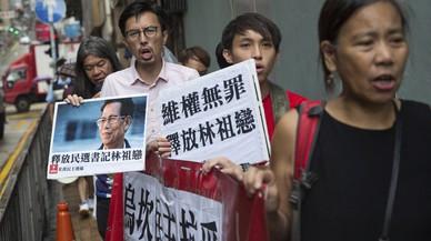 """La policía ocupa la """"aldea democrática"""" de China"""