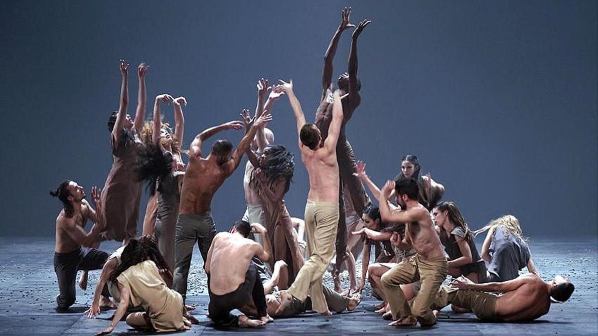 Una secuencia de la obra 'La consagració de la primavera', de Stravinsky.