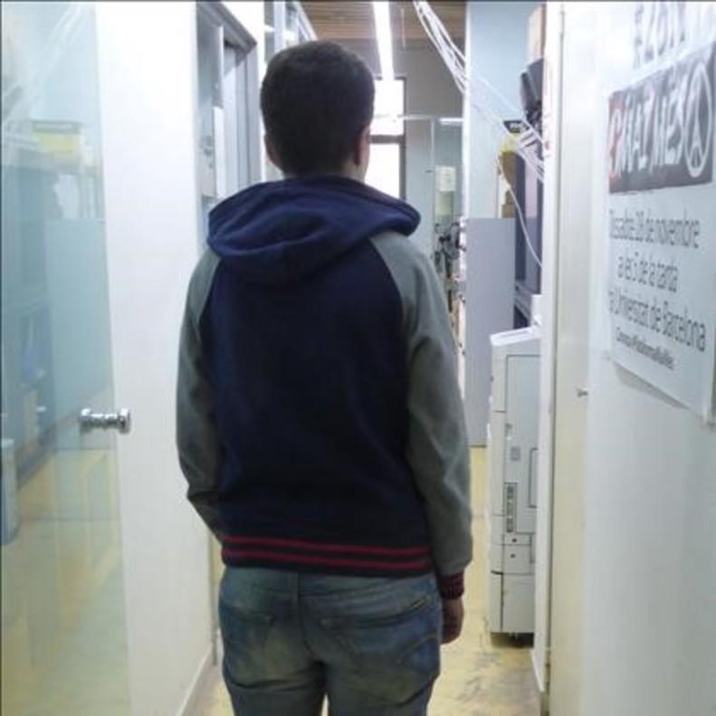 Refugiada argelina lesbiana residente en Barcelona cuyo testimonio se negaron a traducir los intérpretes.