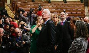 """Richard Gere, de visita en el Congreso: """"Un lugar muy bonito"""""""