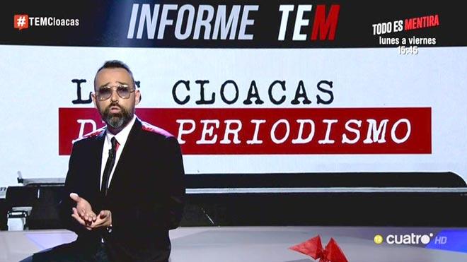Risto presentó Las cloacas del periodismo.