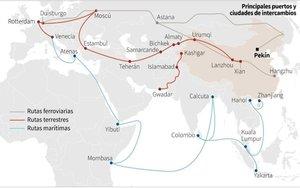 La Nueva Ruta de la Seda que promueve China.