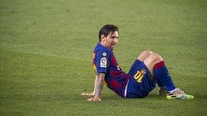 Leo Messi, máximo goleador de la Liga española.