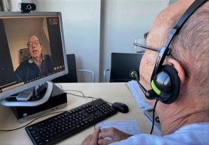Servicio de vídeoConsulta del Hospital Esperit Sant de Santa Coloma.