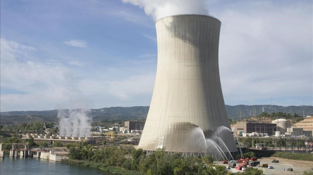La central nuclear de Ascó.