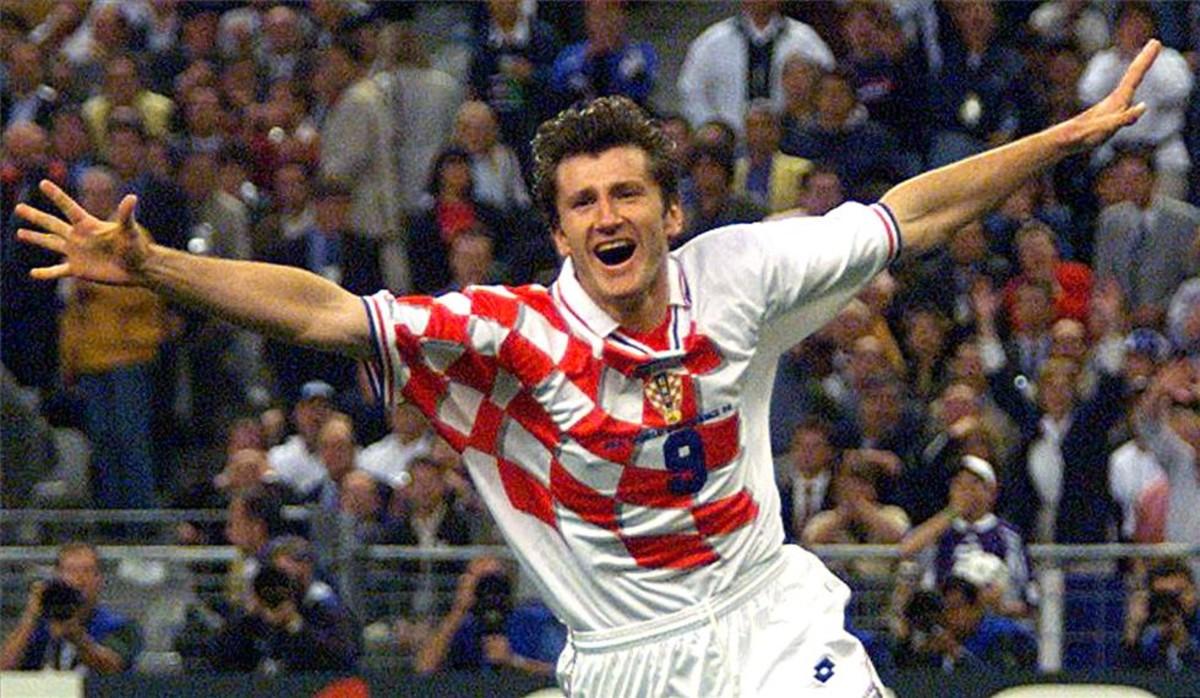 Suker, en la semifinal del Mundial de Francia 98