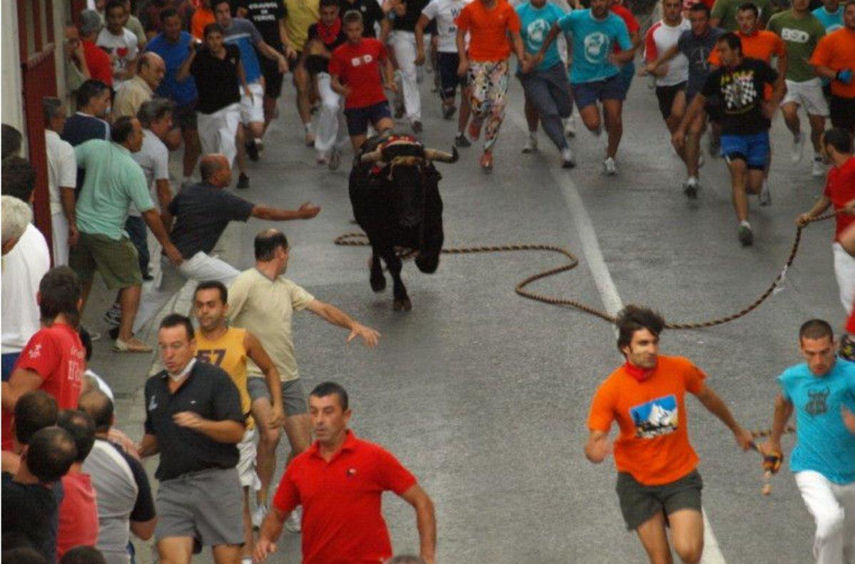 Mor un home banyegat per un toro en una festa de València