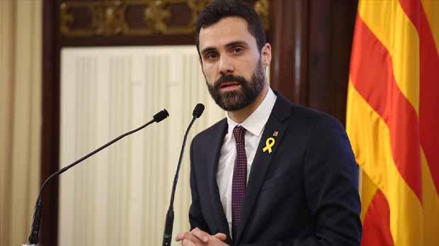 Roger Torrent ha instado a los servicios jurídicos de la cámara a que estudien las alegaciones a presentar ante el Tribunal Constitucional para que Puigdemont pueda tener un debate con garantías.