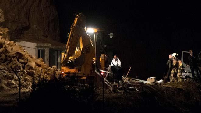 Tres muertos en la explosión de una pirotecnia en Guadix (Granada).