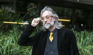 Víctor Amela, en la presentación del premio Ramon Llull de novela.