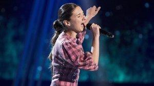 'La voz kids' sube con su final y supera al regreso de 'Volverte a ver'