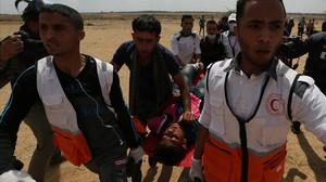 Matança de palestins en les protestes del Dia de la Ira a Gaza