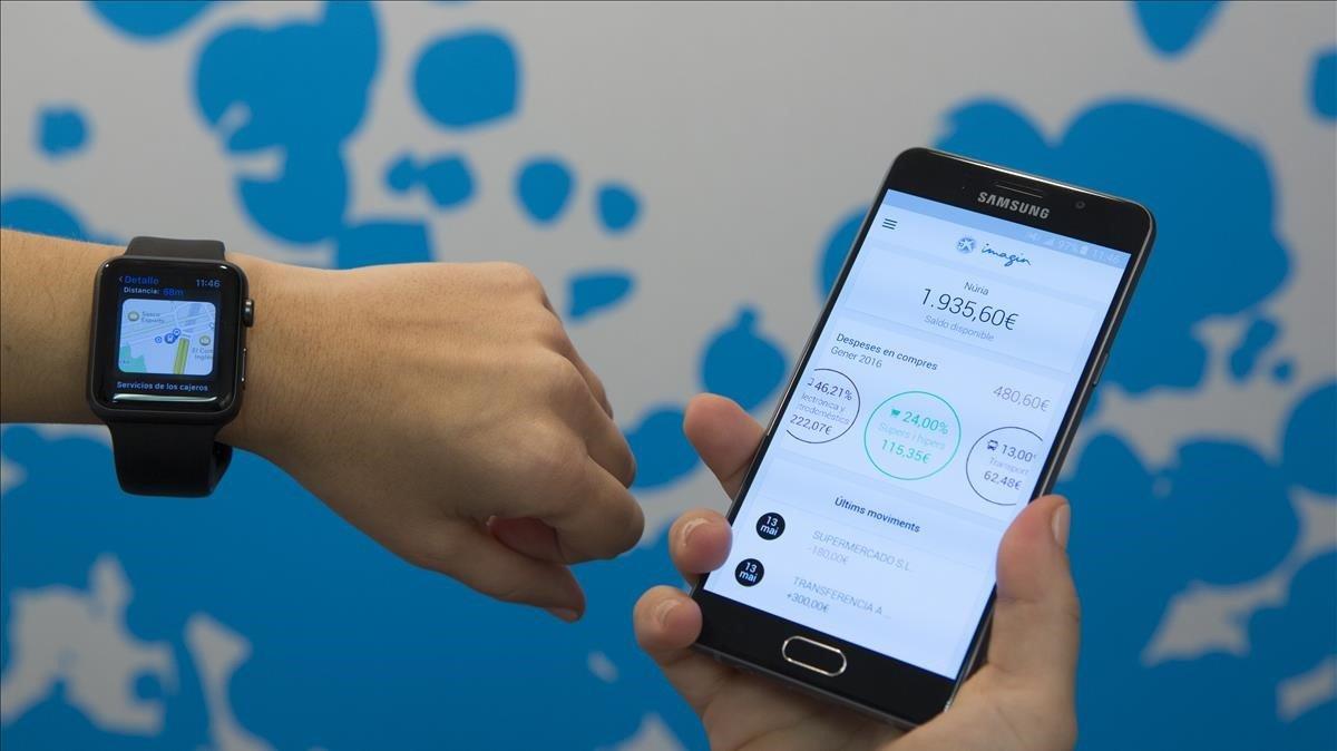 App de ImaginBank, el banco para jóvenes de de Ciaxabank.