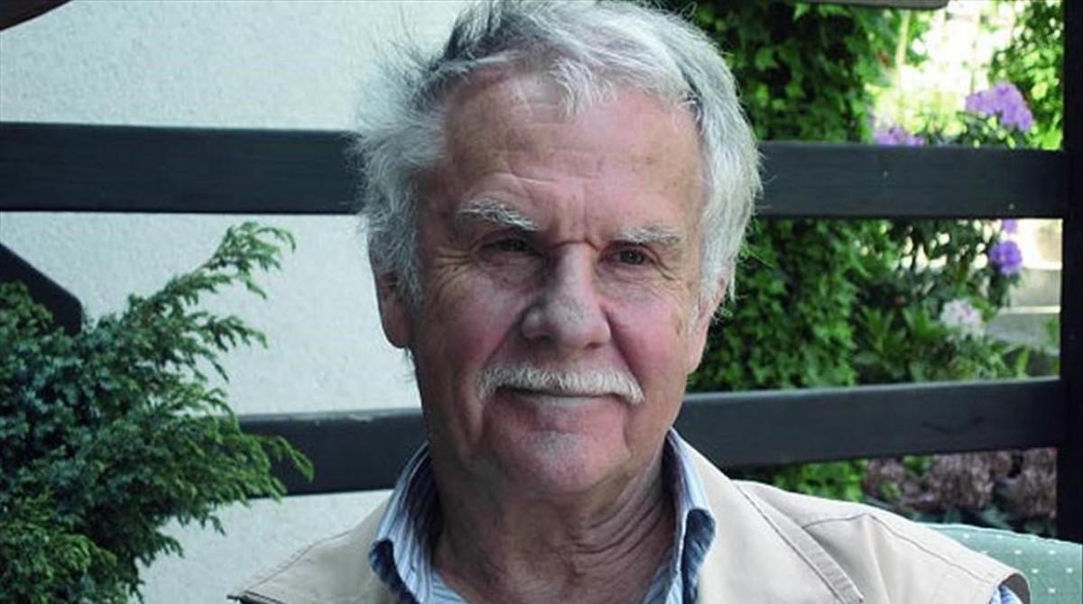 El dibujante belga Hermann, invitado en el Salón del Cómic de Barcelona 2017.
