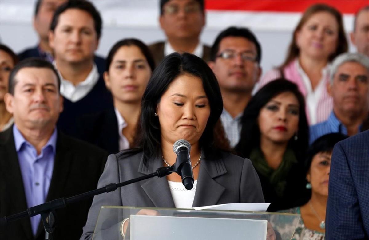 Keiko Fujimori, detinguda al Perú per blanqueig de capitals