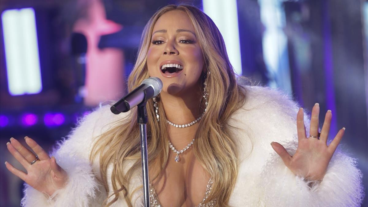 Mariah Carey es rescabala en el xou de Cap d'Any de Times Square